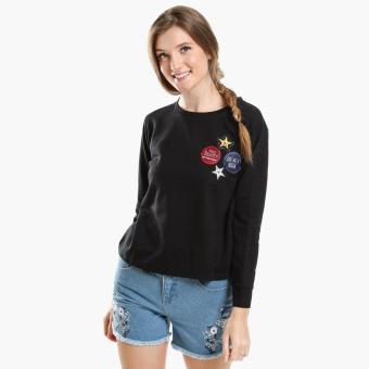 GTW Urban Patched Sweatshirt (Black)