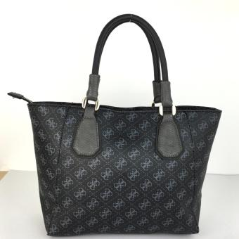 GUESS Confidential Chain Tote Bag (Black) - 3