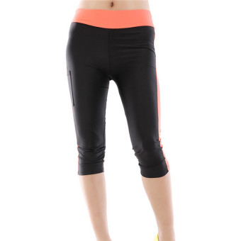 HANG-QIAO Leggings (Black/Orange)