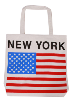 Hang-Qiao Women Shopping Tote Bag Handbags American Flag