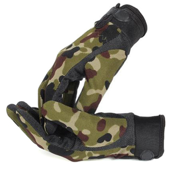 HangQiao Airsoft Gloves Camouflage (Multicolor)