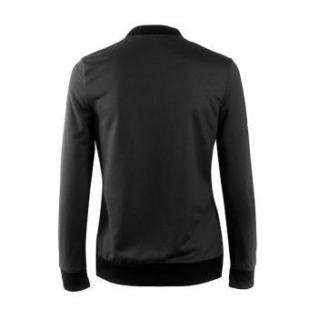 HangQiao Women Jackets Long Sleeve Shawl Neck Plain Causal Coat(Black) - intl - 3