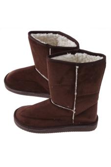 Hanyu Winter Snow Boots Coffee - 3