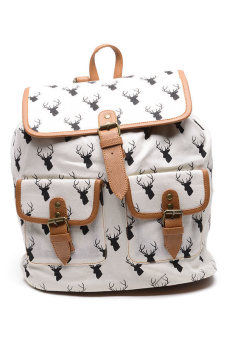 Hdy Biffy Backpack Bag (Reindeer Print)