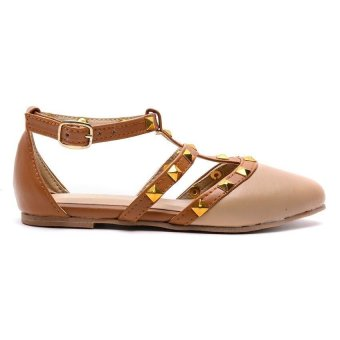 Hdy Valerie Flats Shoes (Beige/Tan) - picture 2