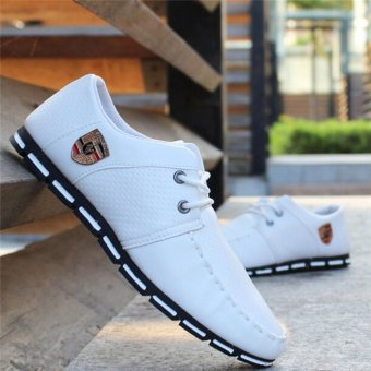 HengSong Fall New Fashion Men 's Casual Shoes White - 2