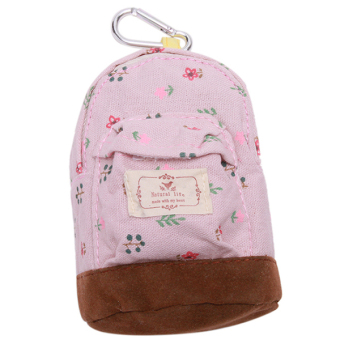 HengSong Floral Lovely Hang Type Small Bag Pink