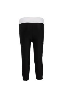 Hengsong Running/Yoga/Sport Soft Tights Pants Black