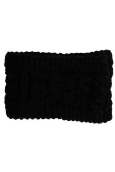 Hengsong Turban Knitted Hair Bands (Black) - picture 2