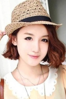 Hequ Korean Version of The Small Pepper Hollow Straw Hat Linen Summer Men and Women Jazz Hat Shading Sun Hat Beach Fashion - intl - 2