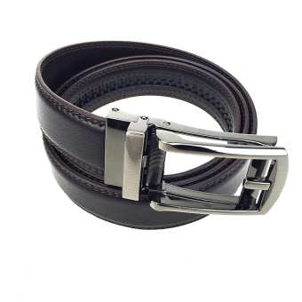 High Quality COMFORT CLICK Leather Belt For Men Brown - intl Price Philippines