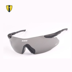 High Quality Military ESS Safety Cycling Glasses Tactical ArmyGoggles Outdoor Hunting Wargame 3 Pairs Lens Black