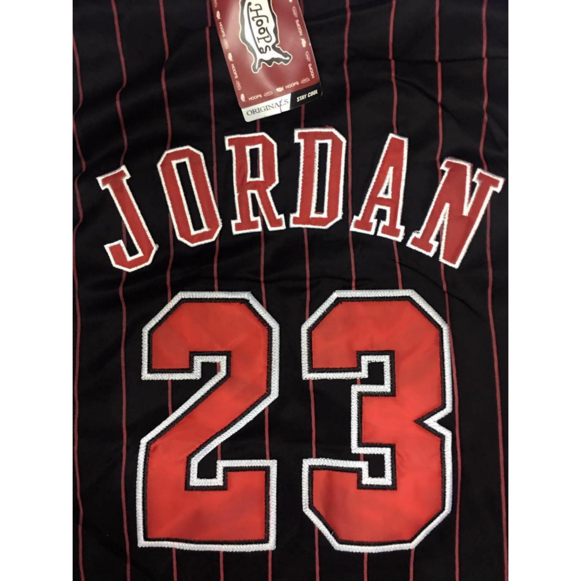 brand new f89a3 515ec Philippines | Hoops Chicago Bulls Stripes 23 jersey eShop ...