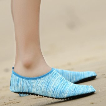 Hot Sale Male Quick Dry barefoot Water Float Shoes Aqua Socks - intl - 4