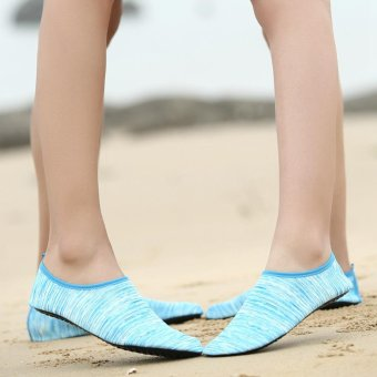 Hot Sale Male Quick Dry barefoot Water Float Shoes Aqua Socks - intl - 2