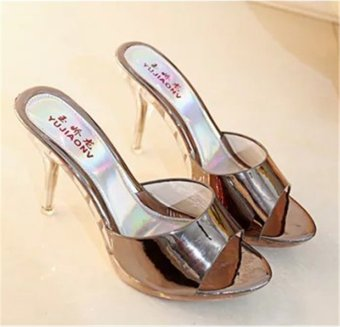 Hot Sale!!! Sexy Shoes Women Summer Fashion High Heel Sandals WomenSlippers Ladies Shoes Size 35-39 - intl - 2