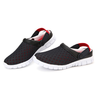 Hot Summer Mens Boys Slipper Mesh Sports Sandals Breathable Flats Beach Shoes - 2