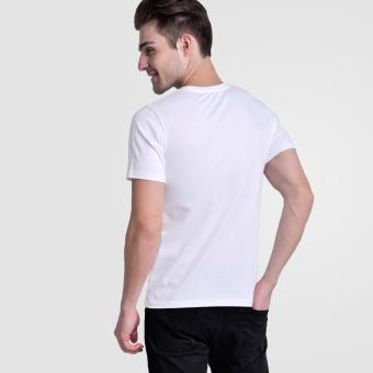 Huga Activewear White V-Neck Tee - 3