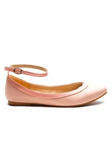 Huxley Empress Ballet Flats (Light Pink)