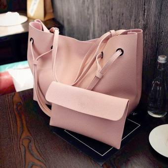 Korean custom leisure loose 2 In 1bag(PINK) Price Philippines