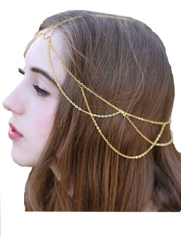 Harga Head Jewelry Chain (Gold)
