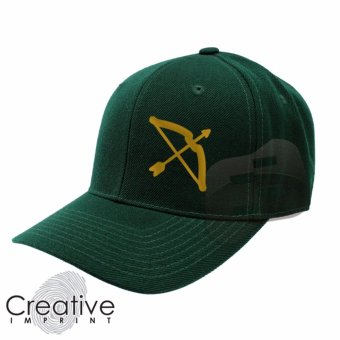 CRTVE Archer Bow DLSU La Salle Baseball Cap (Green) Price Philippines