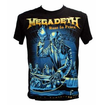 Harga Megadeth - Rust in Peace T-shirt (nts)