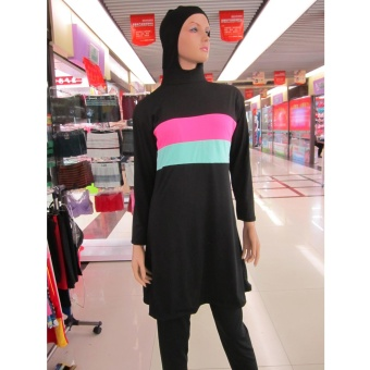 2017 Fashion burkini woman's Muslim Wear Swimwear - intl Price Philippines