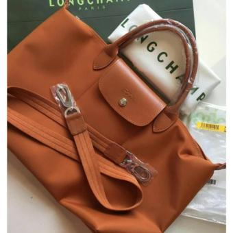 Harga LC Le Pliage Neo Small Free Twilly & Charm Original (CARAMEL)