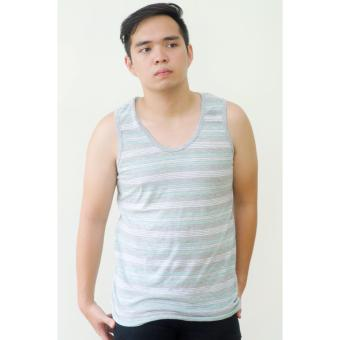Artweark Summer Striped Tank Top (Gray) Price Philippines