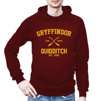 Harga Harry Potter Gryffindor Hoodies for Men (Maroon)