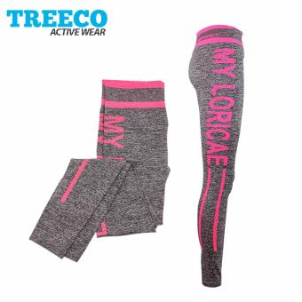 Treeco Fashionable Active Sports Leggings 904 (Pink) Price Philippines