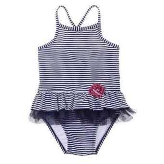 Circo Swimsuit (Ruffles And Stripes) (3T) Price Philippines