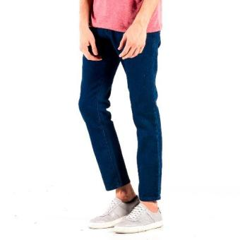 Harga OXYGEN Daily Slim Tapered Jeans (Blue)