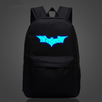 Batman The Avengers Noctilucent backpack schoolbag Price Philippines