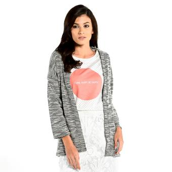 Harga FORME Knit Cardigan (Light Gray)