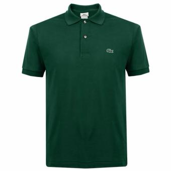 LACOSTE CLASSIC POLO SHIRT FOR MEN (MOSS GREEN) Price Philippines