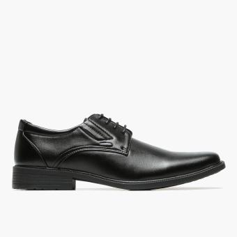 Harga Salvatore Mann Ilax Derby School Shoes (Black)