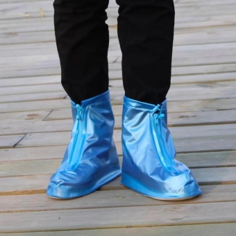 Hong Kong Best Quality Rain Waterproof Shoe Cover Blue Medium Price Philippines