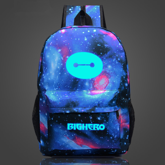 Big Hero 6 Baymax Noctilucent backpack schoolbag Price Philippines