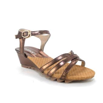 Harga Cardam's Karen Wedges (Bronze) with Free Earrings