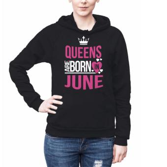 Harga Birth Month Hoodies for Women - June (black)