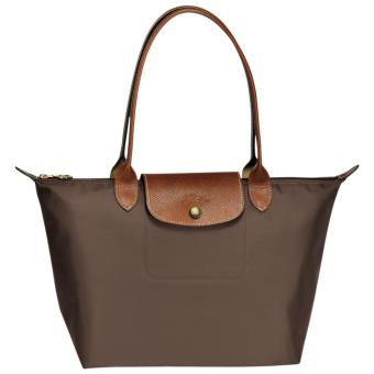 Longchamp Le Pliage Nylon Small Tote Long Handle Tote Bag, SLH Brown Price Philippines