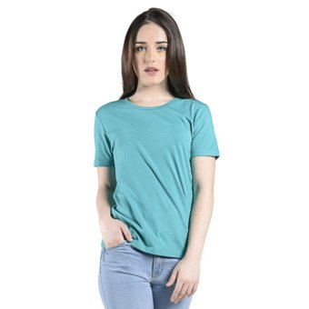 PENSHOPPE All Day Roundneck Basic Tee (Moss Green) Price Philippines