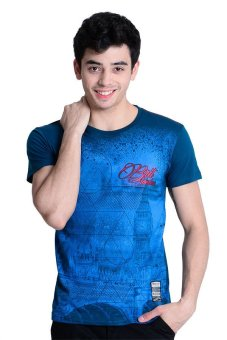 Harga Brit London Roundneck T-Shirt (Onion Blue)