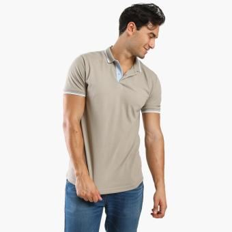 Men's Club Mens Pique Polo Shirt (Brown) Price Philippines