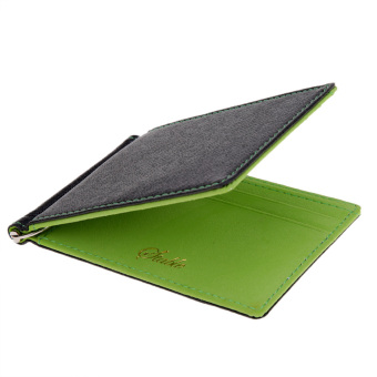Cyber Ultra-Thin Men Purses Wallet Multifunctional Money Clips (Green) Price Philippines