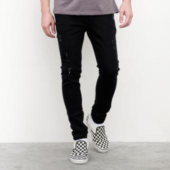 LOYAL Black Distress Jeans Price Philippines
