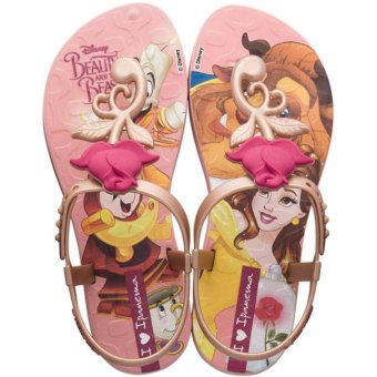 Harga Ipanema Beauty & The Beast Kids Pink Sandals
