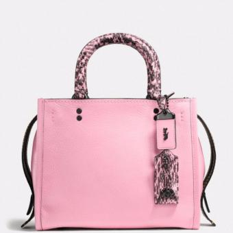 COACH ROGUE bag 25 in colorblock snake (RARE) Price Philippines